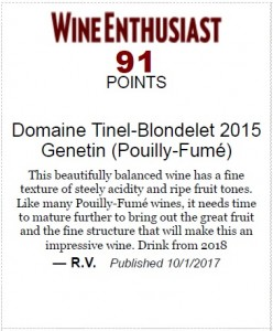 Genetin 15 wine enthusiast
